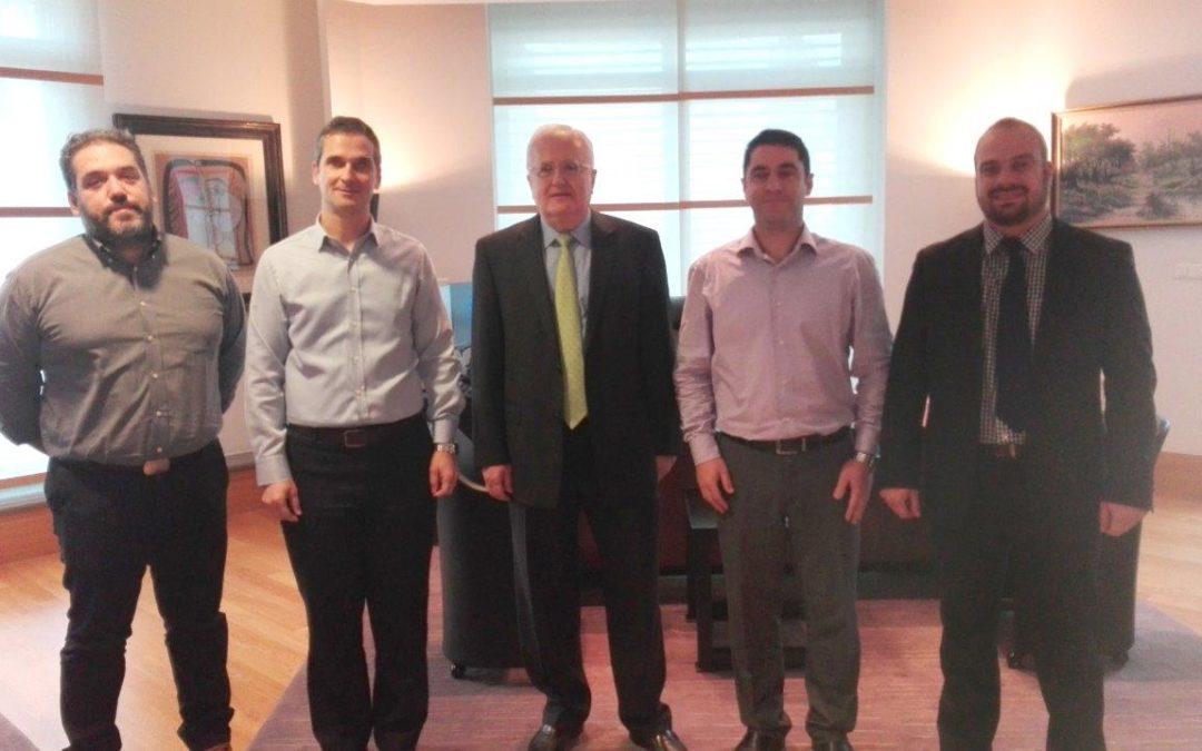 Συνάντηση με το νέο Πρόεδρο του Ομίλου Τράπεζας Πειραιώς