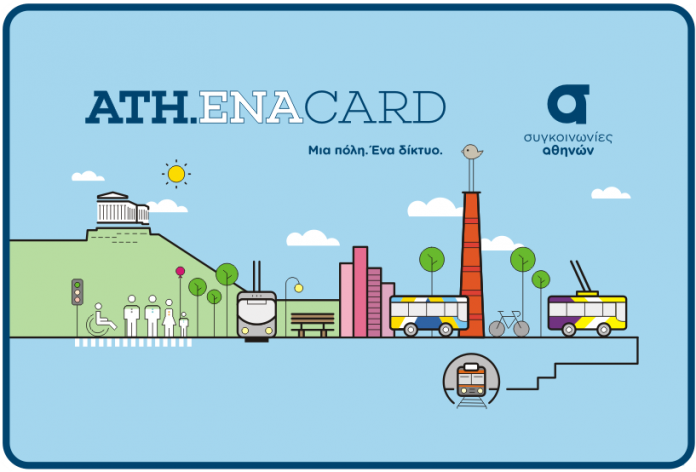 Ετήσια Κάρτα Απεριορίστων Διαδρομών ΟΑΣΑ 2020