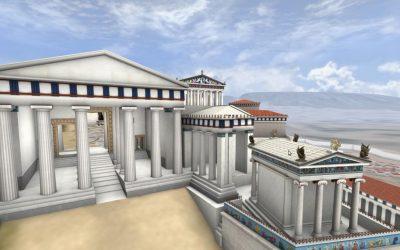 Διαδραστική Περιήγηση Στην Ακρόπολη της εποχής του Περικλή στο Κέντρο Πολιτισμού «Ελληνικός Κόσμος» -Κυριακή 16 Φεβρουαρίου 2020